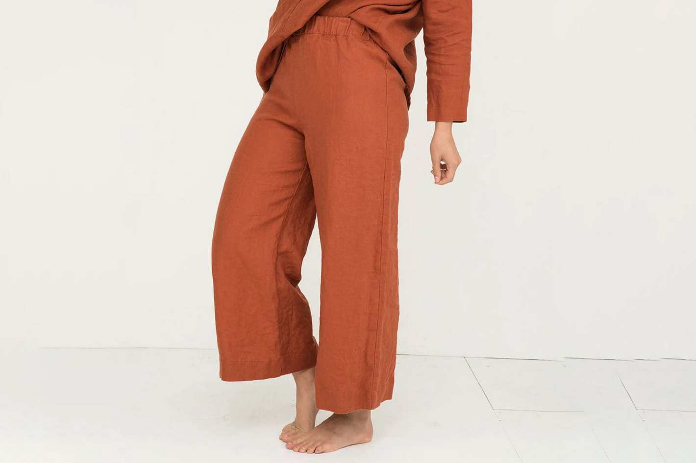 Elizabeth Suzann Florence Pant in Midweight Linen