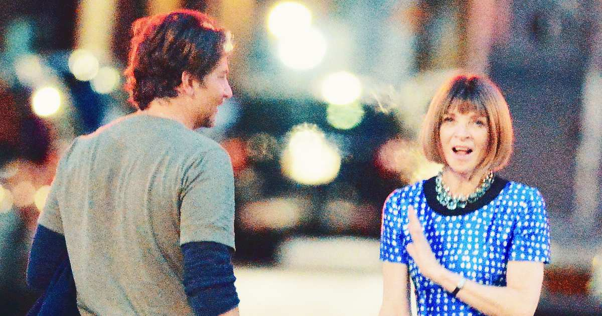 What Do Bradley Cooper and Anna Wintour Talk About?