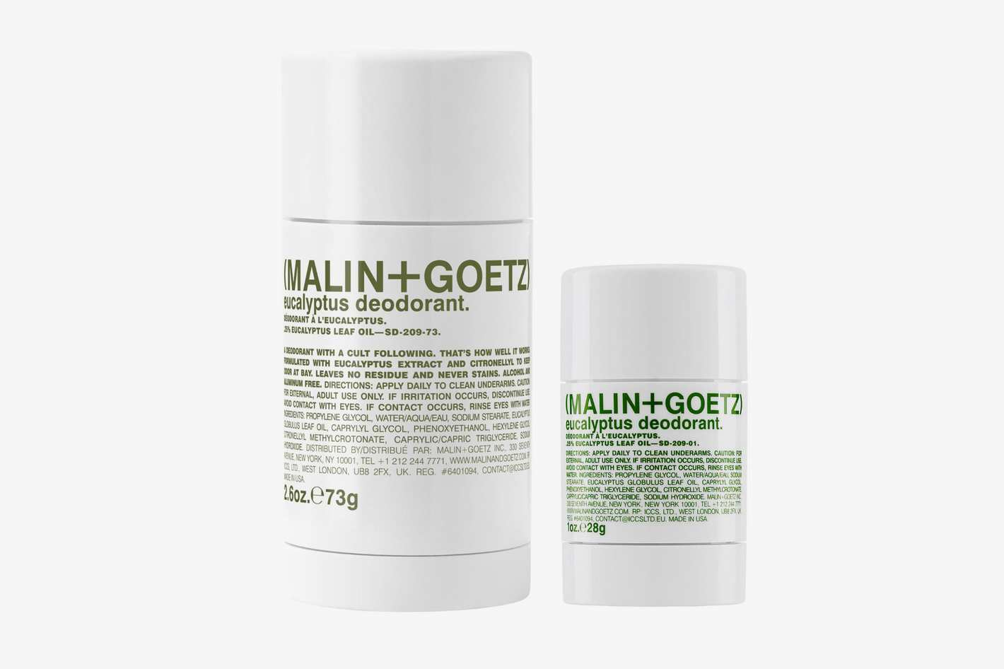 Malin and Goetz Eucalyptus Deodorant Duo