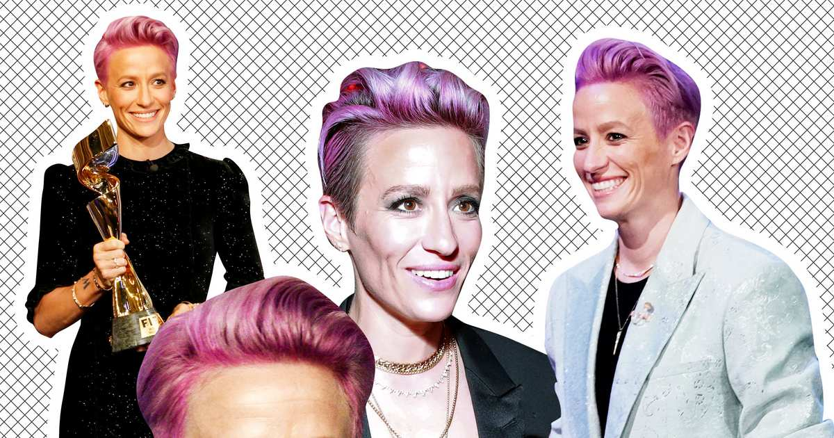 The Story Behind Megan Rapinoe's Glorious Suits