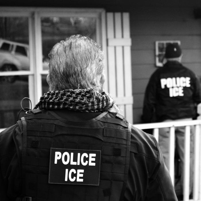 ICE agent.