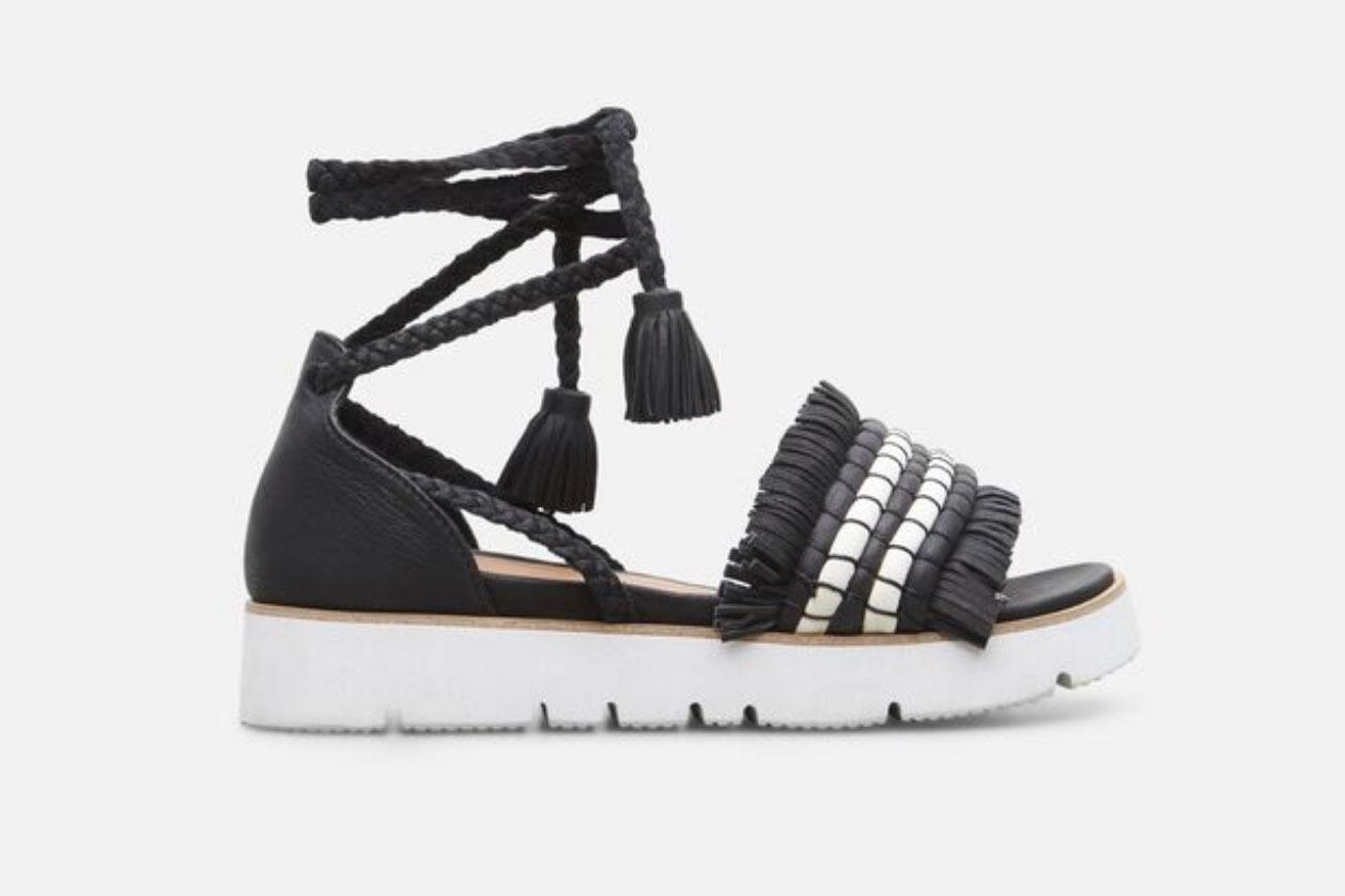 Vayan Wrap Tie Platform Sandal