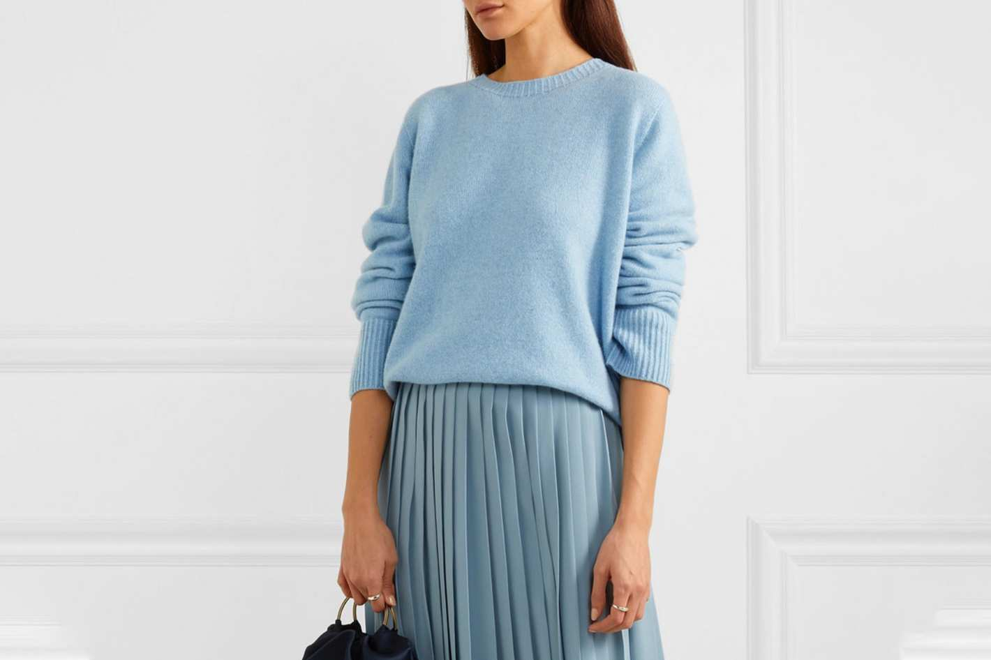 The Row Wool and cashmere-blend sweater