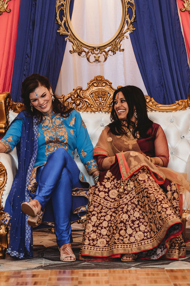 The Two Brides Who Wore Three Different Outfits