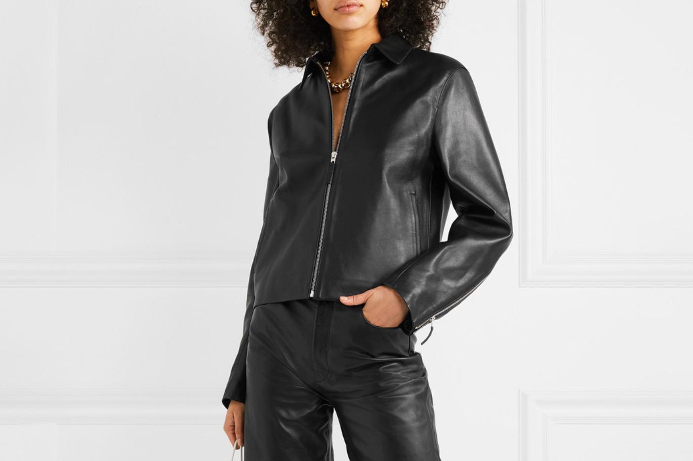 Totême Lucca leather jacket