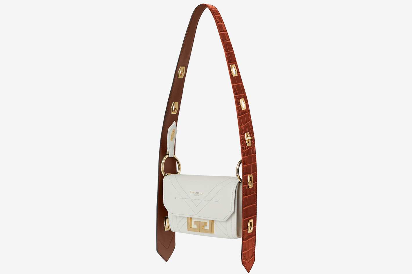 Givenchy Nano Eden Bag in Two-Tone Leather