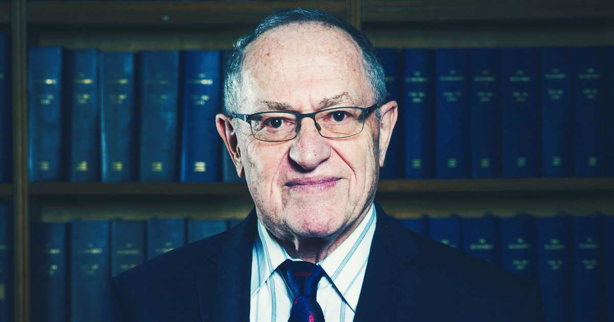 And Now, an Update on Alan Dershowitz