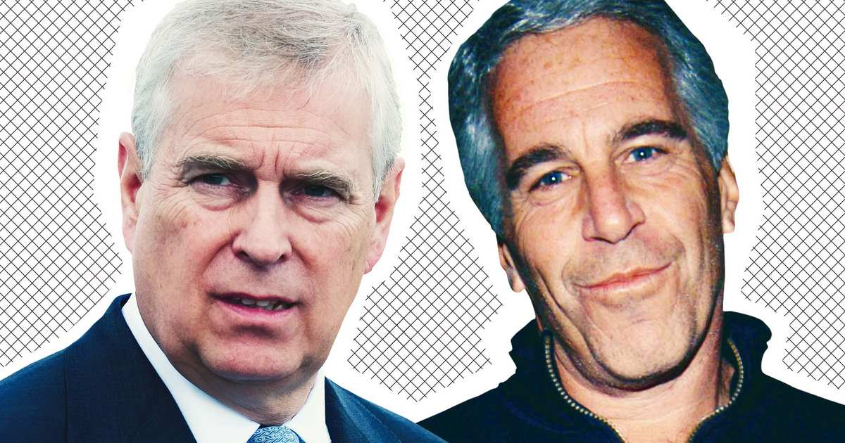 New Video Shows Prince Andrew at Jeffrey Epstein's Mansion