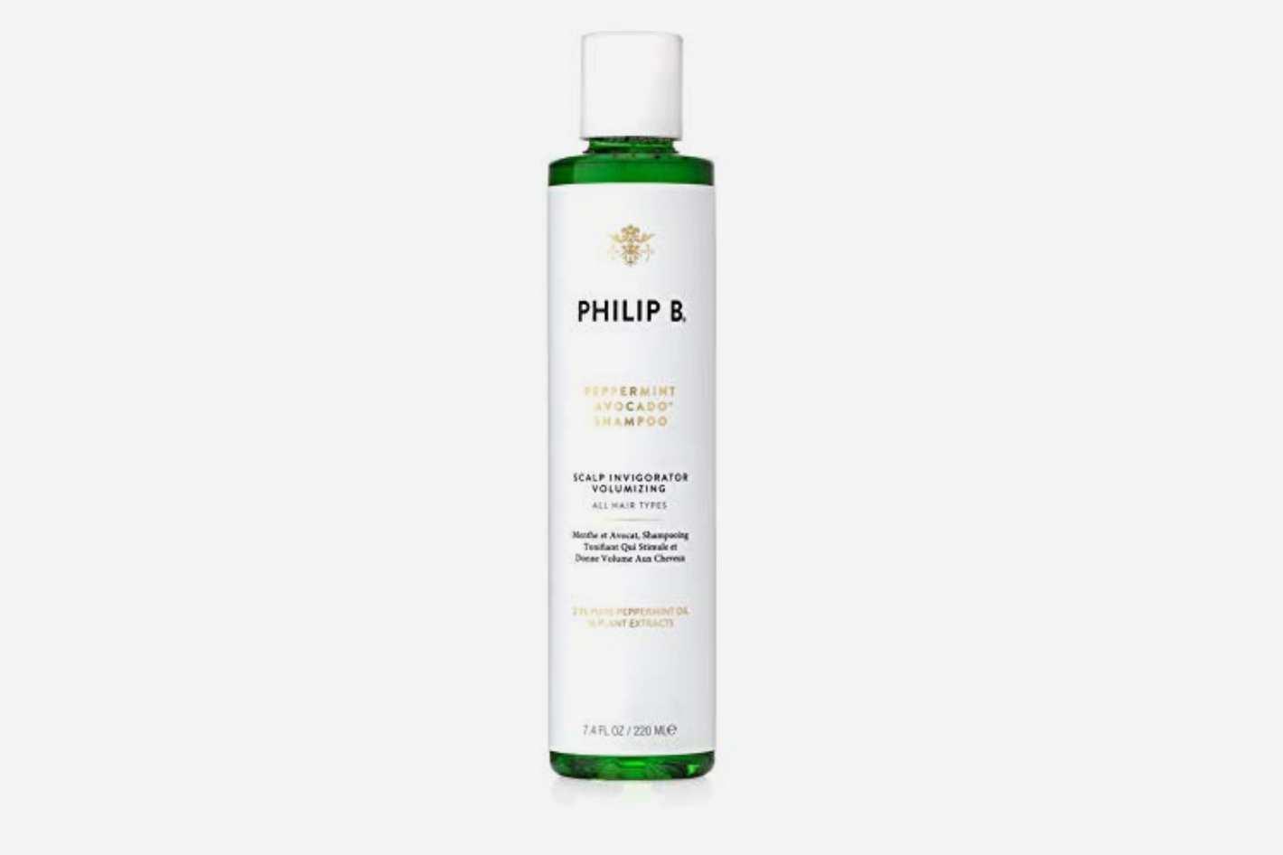 PHILIP B Volumizing and Clarifying Shampoo, Peppermint/Avocado