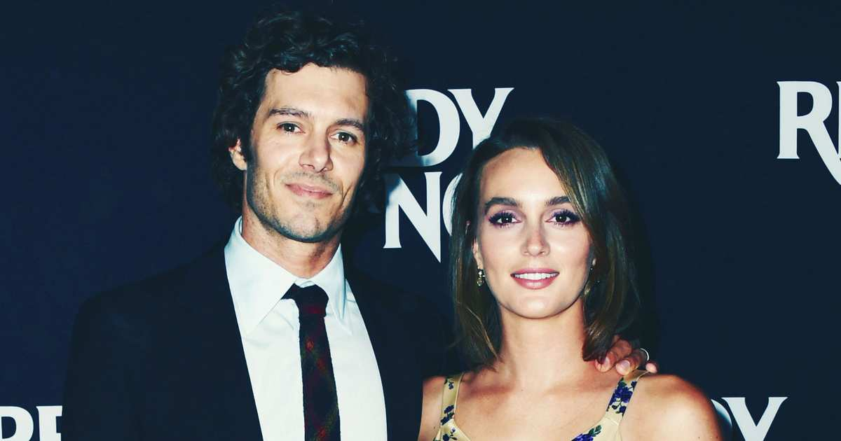 Adam Brody Says It's Not Weird That He Married Blair Waldorf