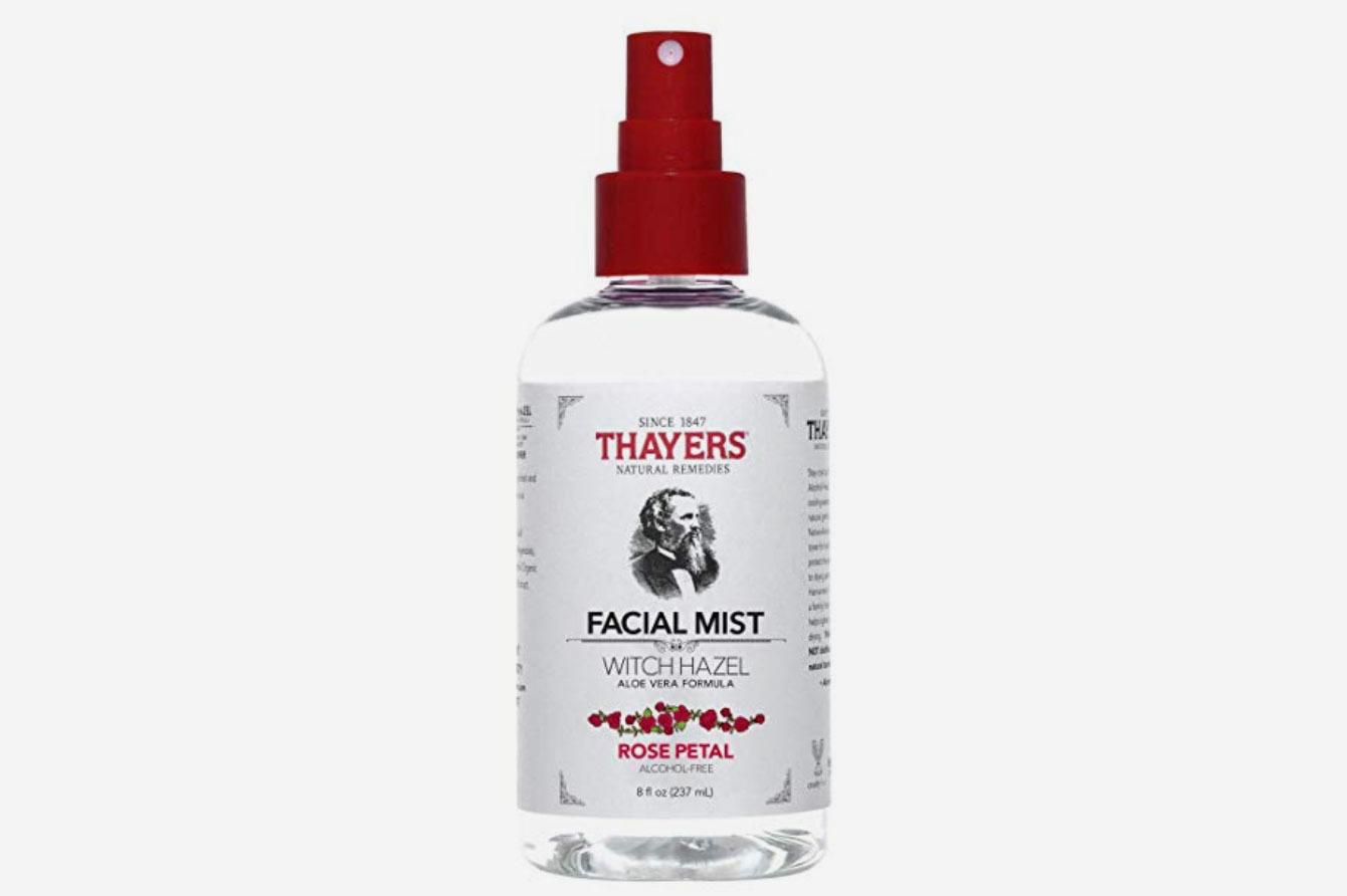 Thayers Alcohol-Free Rose Petal Witch Hazel Facial Mist Toner