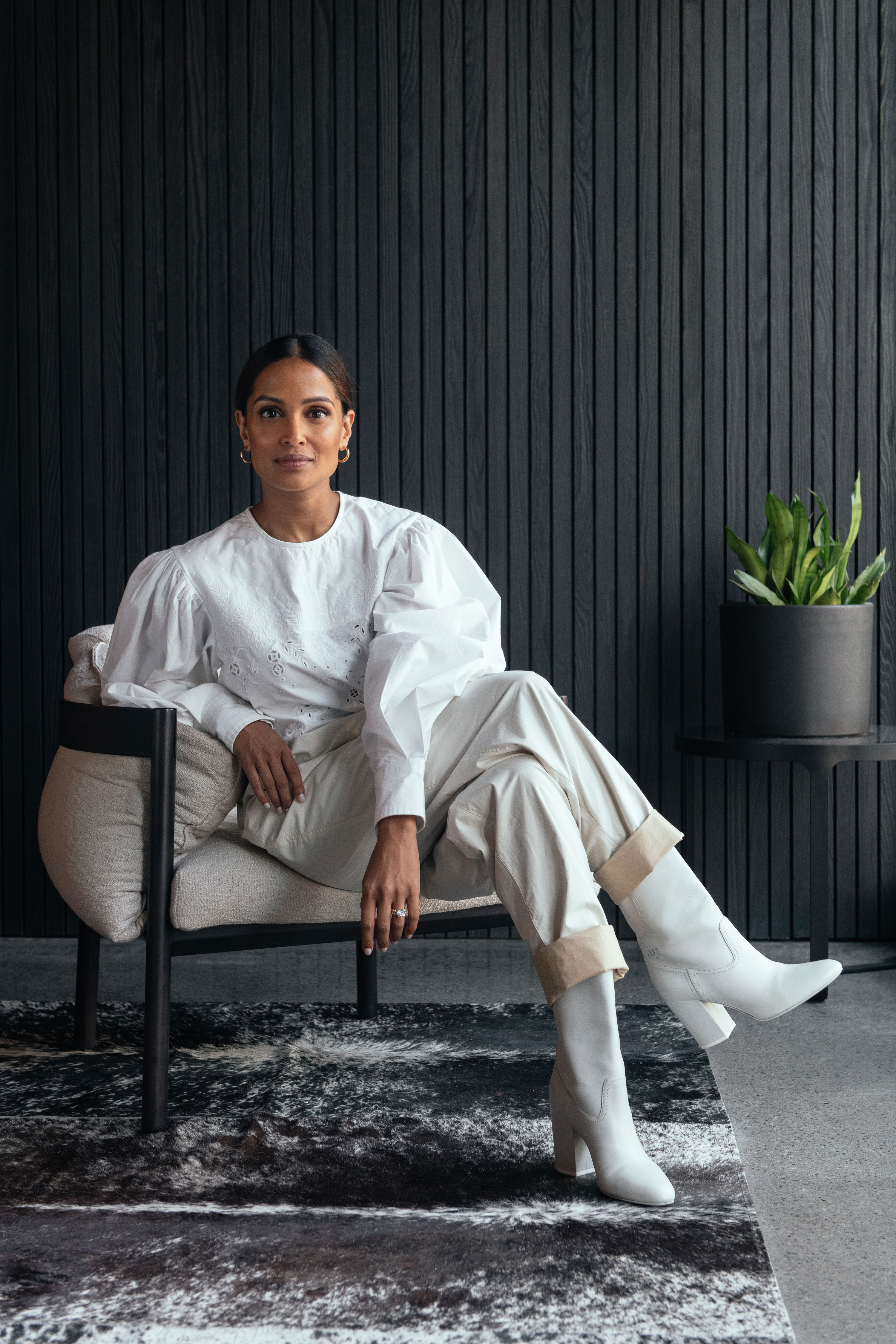 The Tech Executive Who Isn't Afraid to Wear All-White
