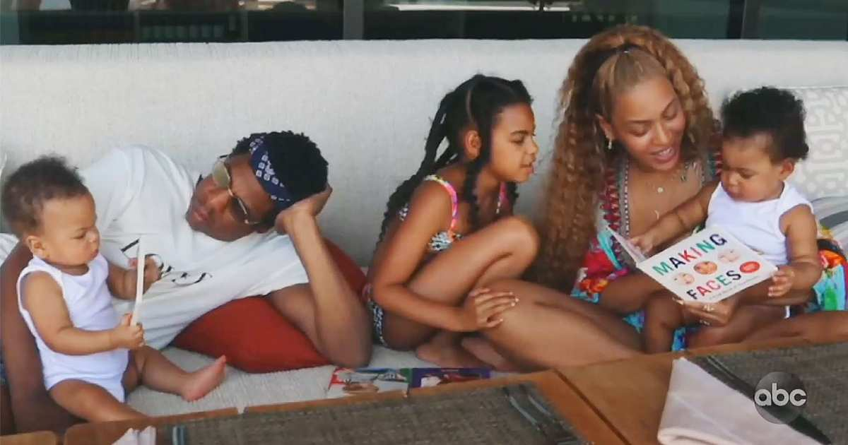 Beyoncé's Kids Make Rare Appearance in Her New Movie