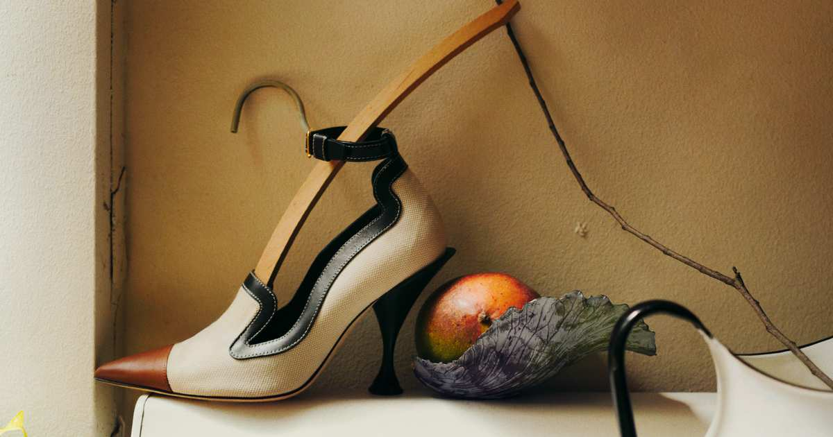 A Ladylike Shoe That's Also a Little Naughty