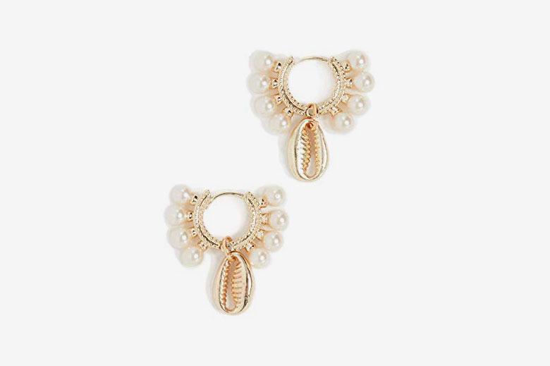 Shashi Women's Lola Baltic Huggie Earrings