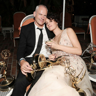 Martin McDonagh and Phoebe Waller-Bridge.