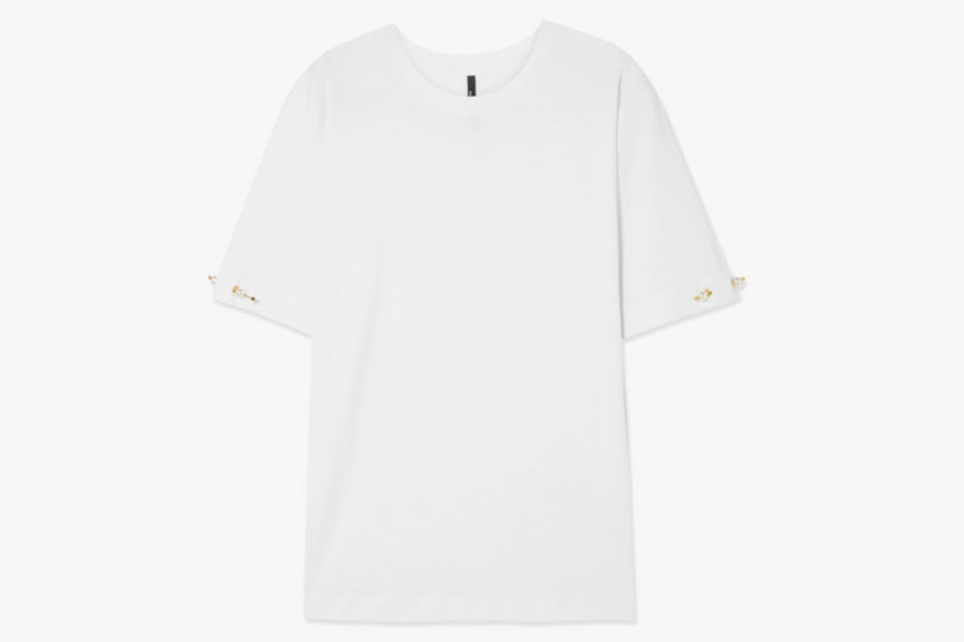 Mother of Pearl + Net Sustain Oversized Organic Cotton-Jersey T-Shirt