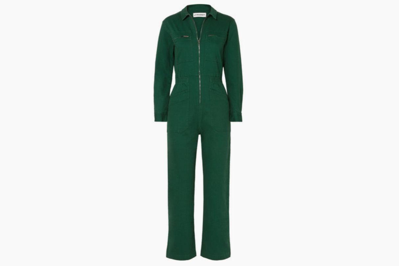 L.F. Markey Danny cotton-blend drill jumpsuit