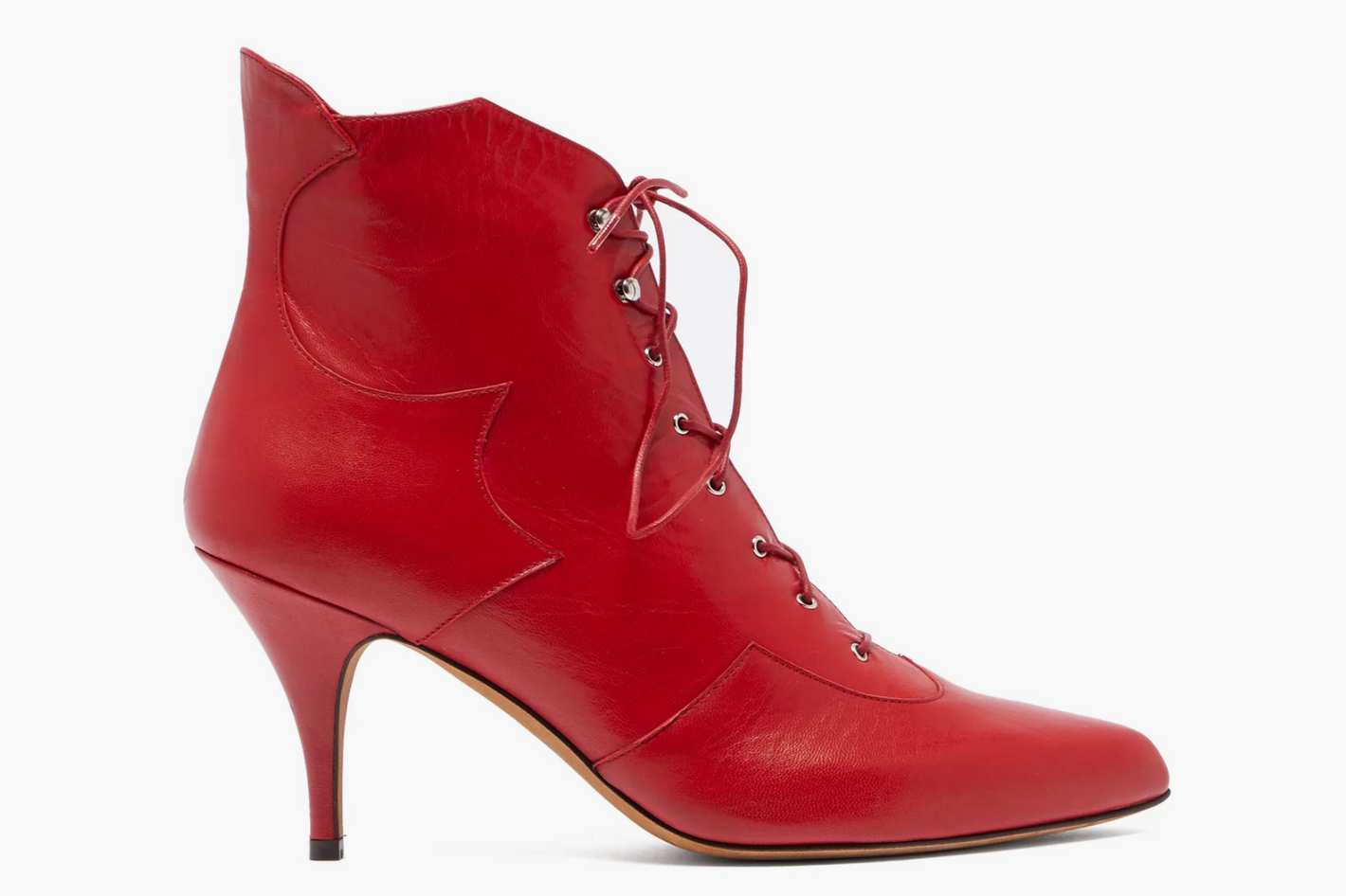 Tabitha Simmons Zora Leather Lace-up Boots