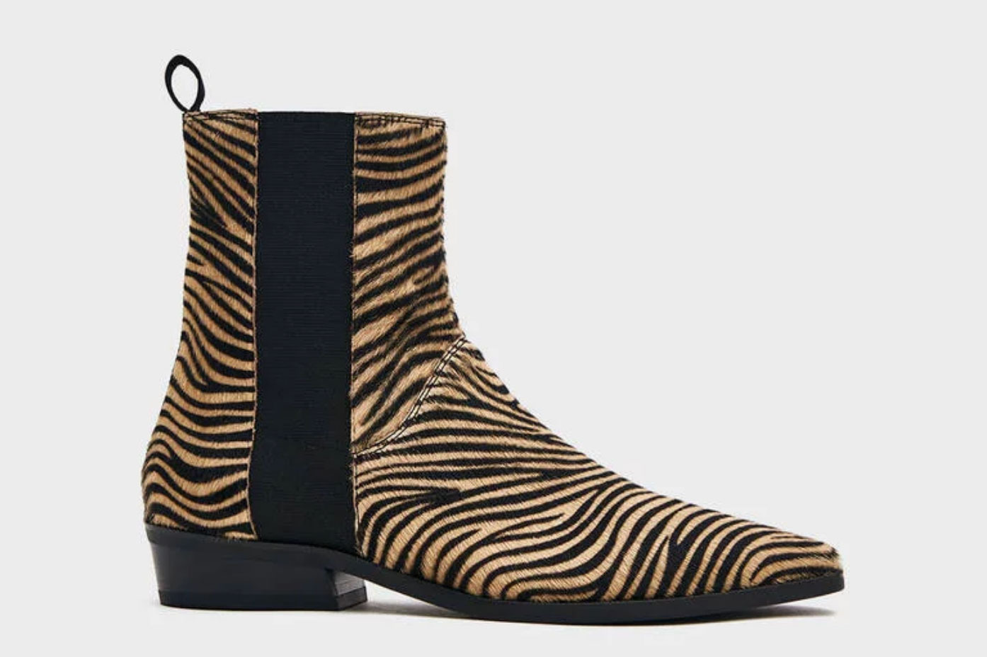 Atelier by Vagabond Alison Pull-On Boot in Zebra