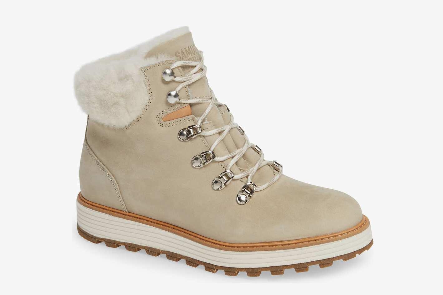 Samuel Hubbard Alpine Water-Resistant Genuine-Shearling-Lined Boot