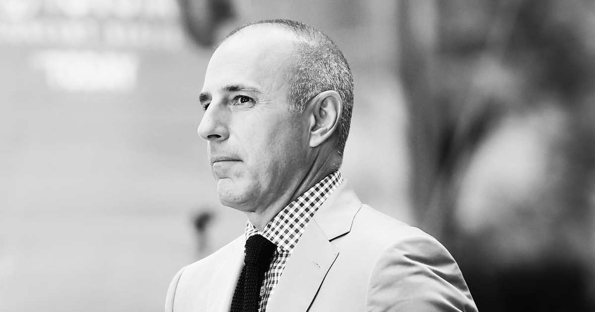 Matt Lauer Accused of Exposing Himself to Today Producer