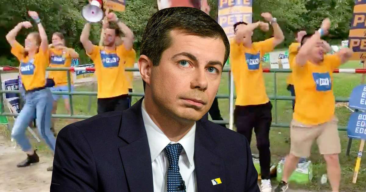 Mayor Pete Is Being Roasted With His Own Campaign Dance