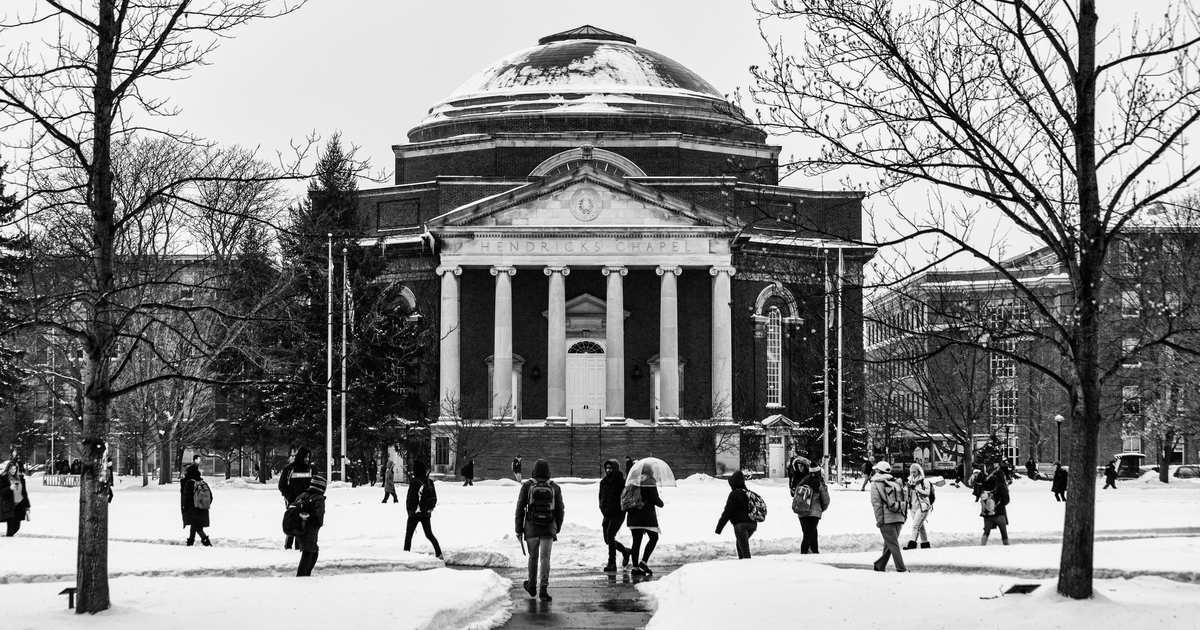 The Crisis at Syracuse University