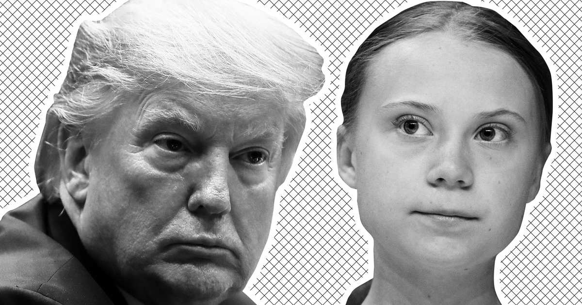 Wow, Trump Is Really Jealous of Greta Thunberg's Time Cover
