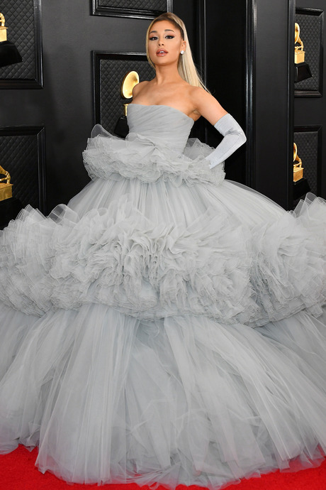Ariana Grande at the 2020 Grammy Awards