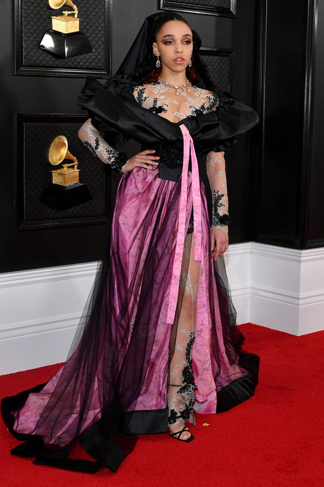 FKA twigs at the 2020 Grammy Awards