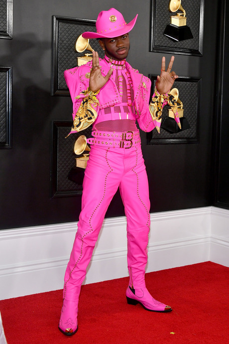 Lil Nas X at the 2020 Grammy Awards