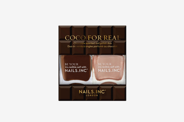 Nails Inc. Coco For Real Nail Polish Duo