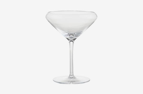 CB2 x Jennifer Fisher Don't Spill Your Martini Glass