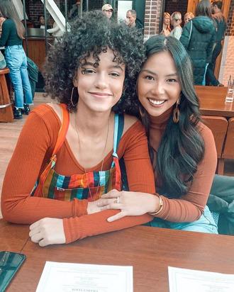 Alexa Caves and Jasmine Nguyen.