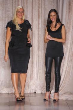 Karen Craig and Georgina Chapman.