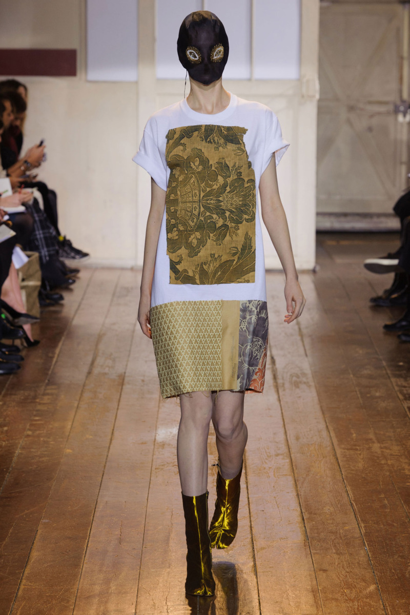 Maison martin margiela spring 2014 couture the cut for Couture a la maison