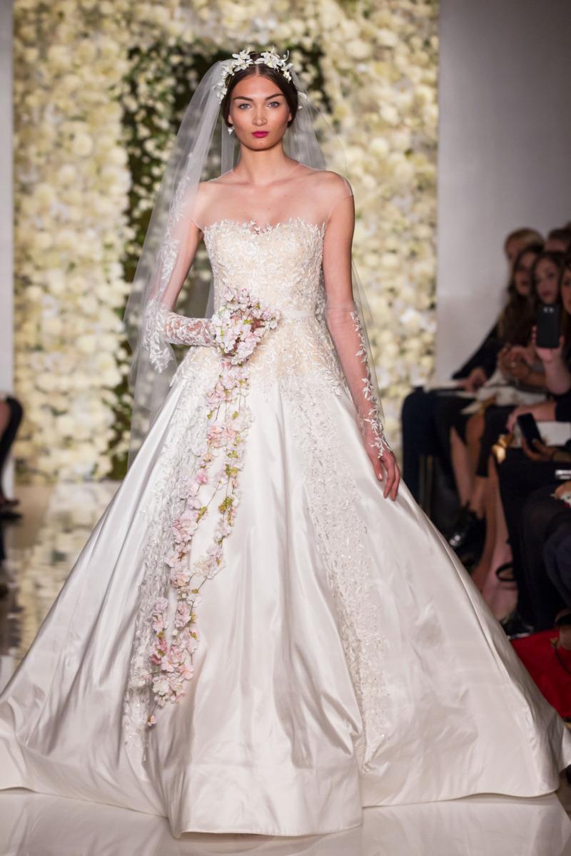 Reem Acra - Fall 2015 Bridal