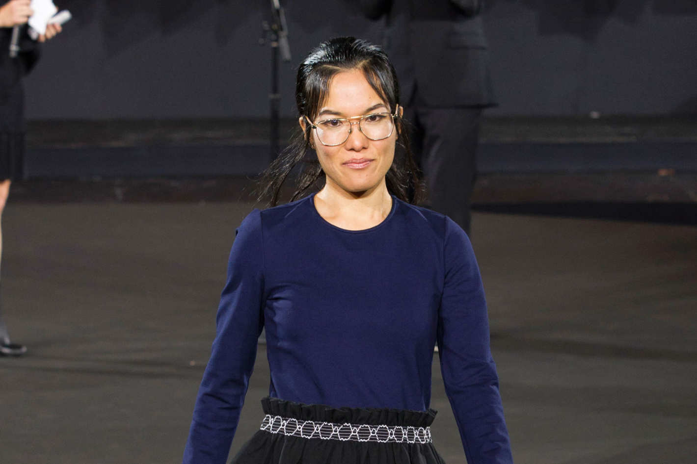 4607051ec36e Ali Wong Models, Jokes at Opening Ceremony Runway Show