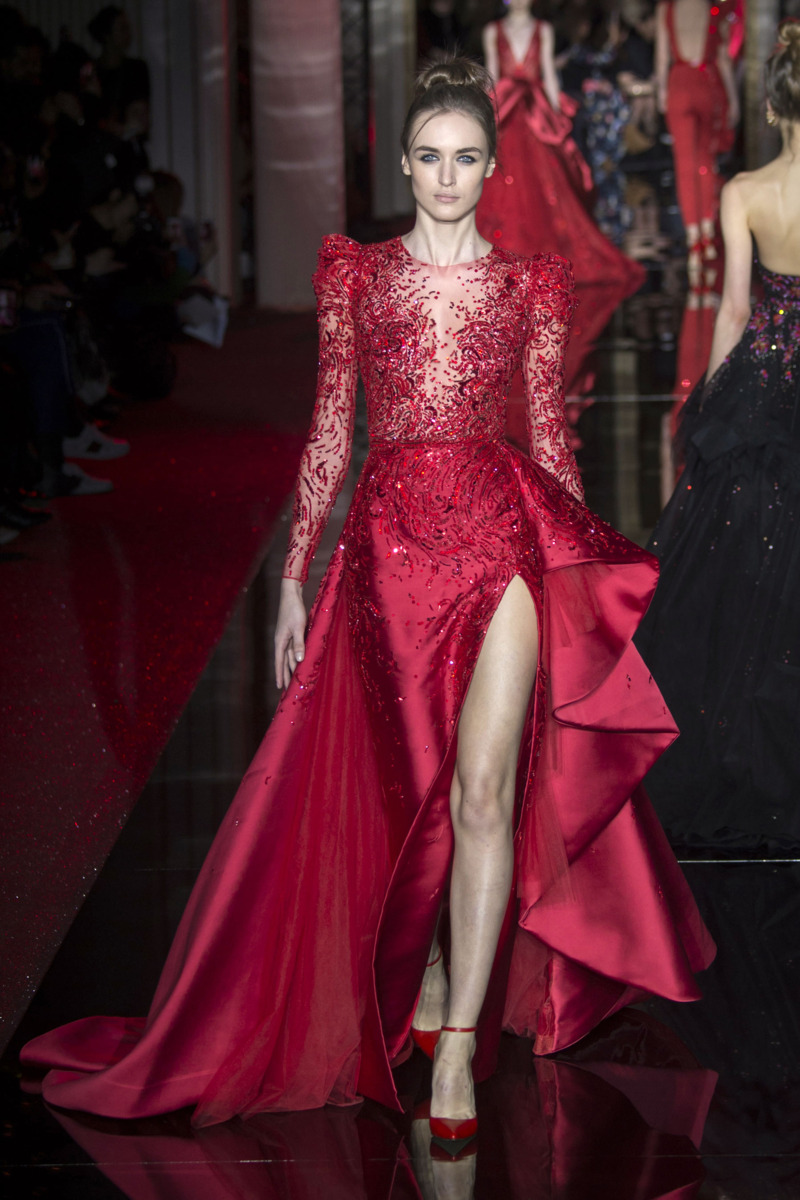 Zuhair murad spring 2017 couture the cut for O couture fashion