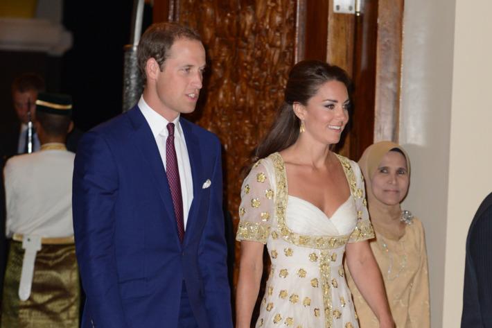 Prince William and Duchess Catherine.
