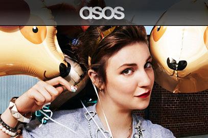 Lena Dunham for Asos.