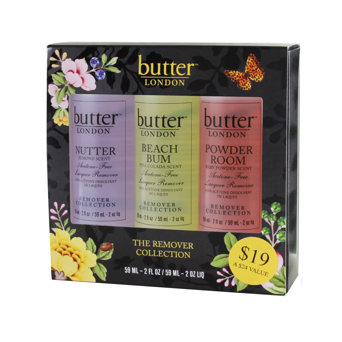 Not Recommended: Butter London The Remover Collection Trio - Nail ...