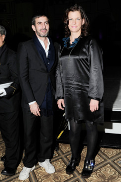 Marc Jacobs and Bridget Foley.