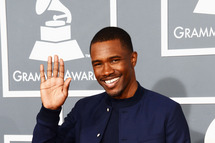 LOS ANGELES, CA - FEBRUARY 10:  Singer Frank Ocean arrives at the 55th Annual GRAMMY Awards at Staples Center on February 10, 2013 in Los Angeles, California.  (Photo by Jason Merritt/Getty Images)