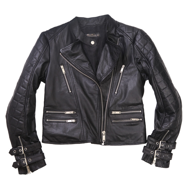 ... Classic Moto Jacket, I Test Drove Nine Different Styles In A Wide  Range: From A Shawl Collared Rick Owens, To A Classic Boxy Fit By Acne, ...