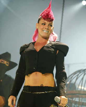 LONDON - MARCH 23: US pop-rockstar Pink plays London stop of European tour promoting current album