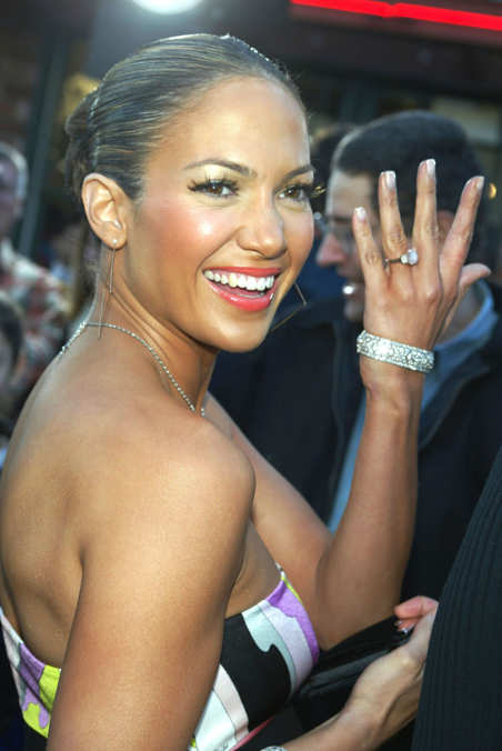 Photo 25 from Jennifer Lopez's Pink Engagement Ring