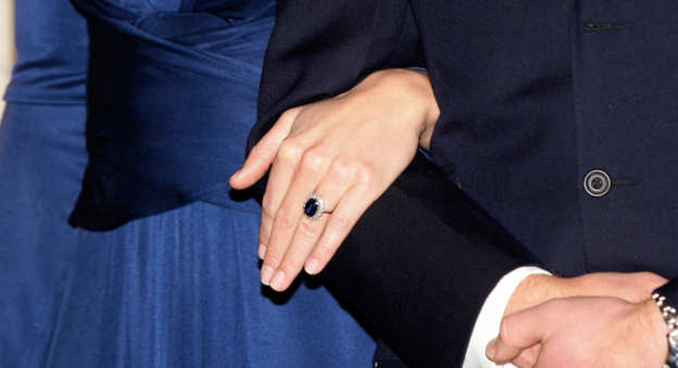Photo 21 from Princess Diana's (Now Duchess Kate's) Sapphire Ring