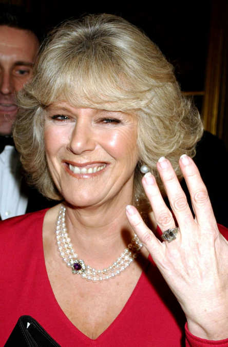 Photo 28 from Camilla Parker Bowles's Engagement Ring